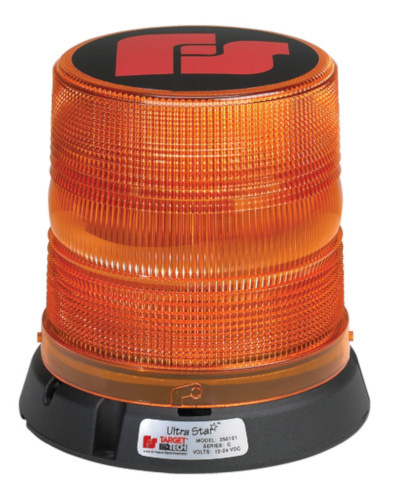 Federal Signal 451112-02 HighLighter Halogen Mini-Lightbar CAC Title 13 Class 1 Permanent Mount with Amber Dome
