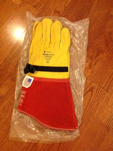 Hi-Line HLHGX3-10 Hi-Grip Xtreme 12-Inch Size 10 High Voltage Glove Protector