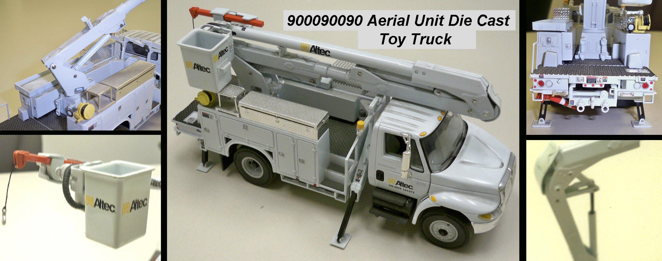 Altec 1 34 Scale Die Cast Aerial Bucket Truck Altec Inc